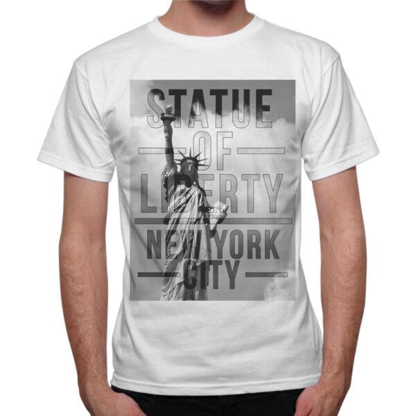 T-Shirt Uomo STATUE OF NEW YORK