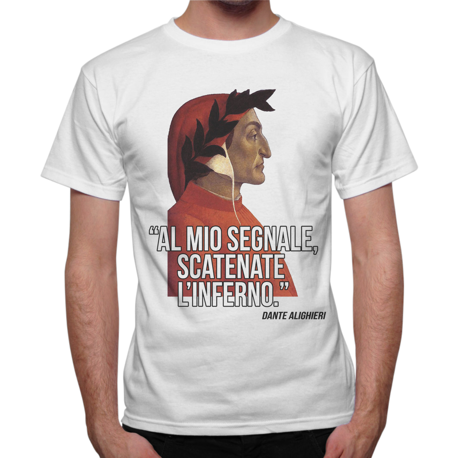 T-Shirt Uomo SCATENATE L'INFERNO
