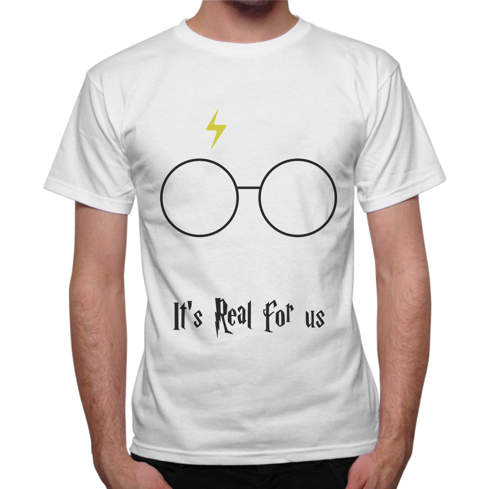 T-Shirt Uomo IT'S REAL FOR US