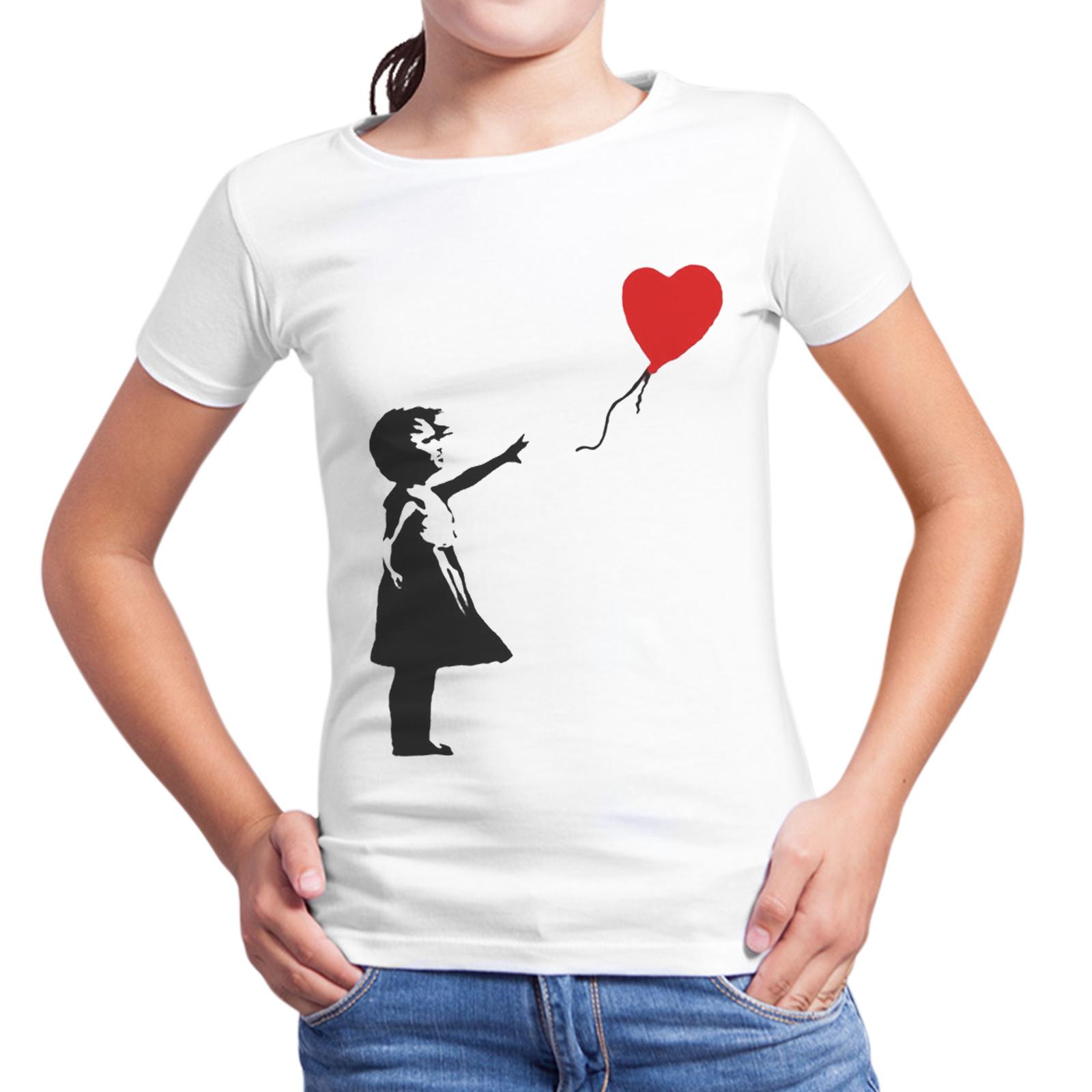 T-Shirt Bambina PALLONCINO CUORE