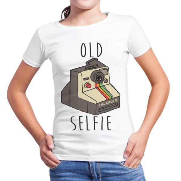 T-Shirt Bambina OLD SELFIE