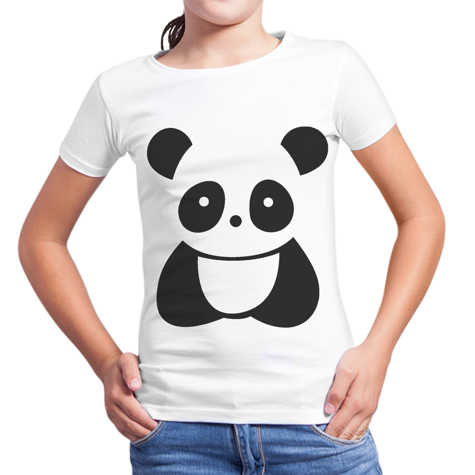 T-Shirt Bambina LITTLE PANDA