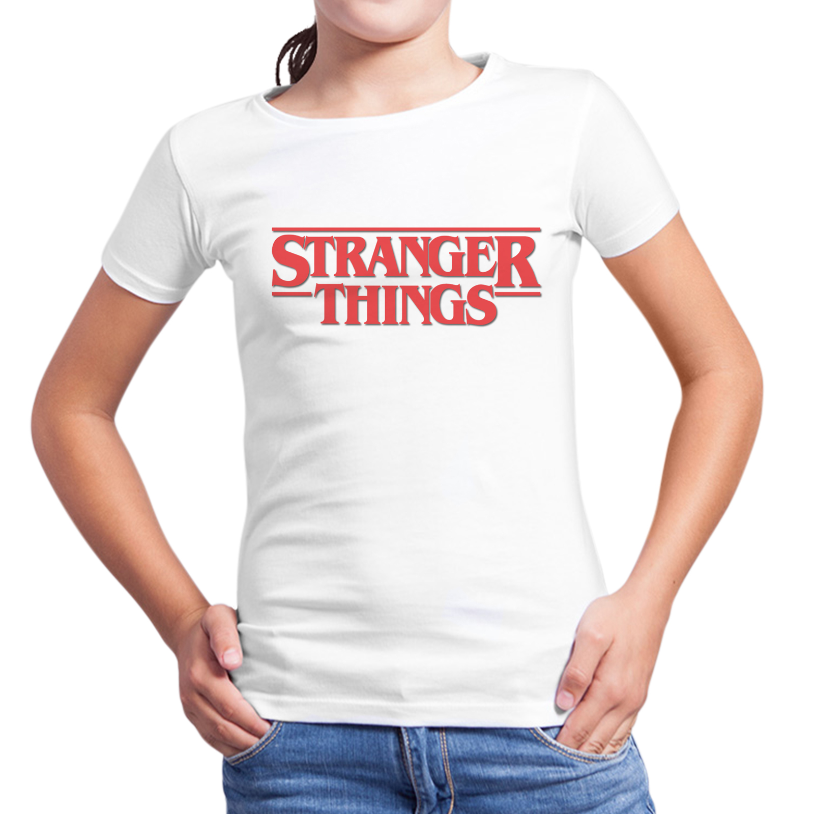 T-Shirt Bambina STRANGER THINGS 1