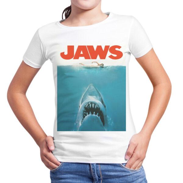 T-Shirt Bambina JAWS SQUALO