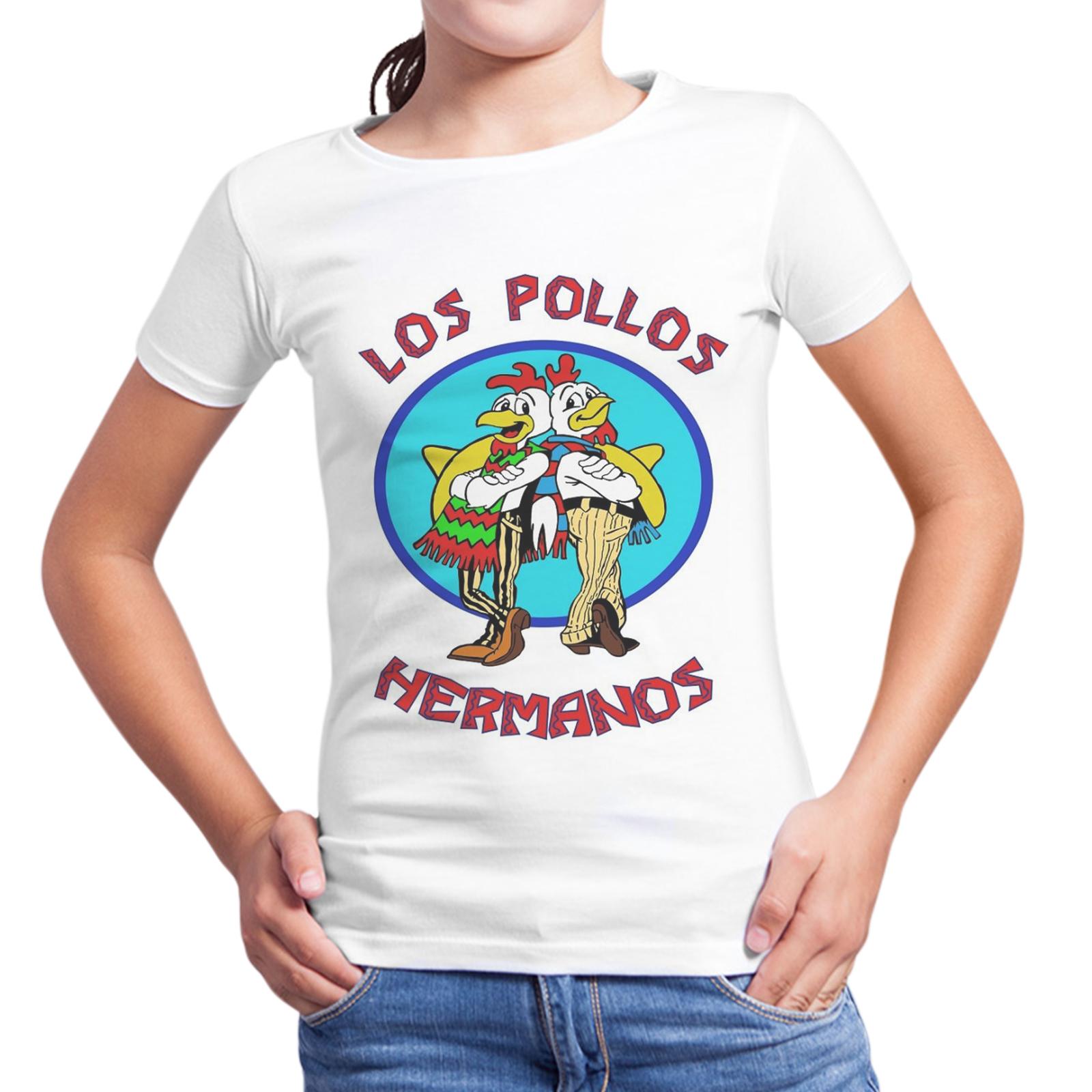 T-Shirt Bambina LOS POLLOS