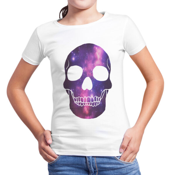 T-Shirt Bambina SKULL GALAXY