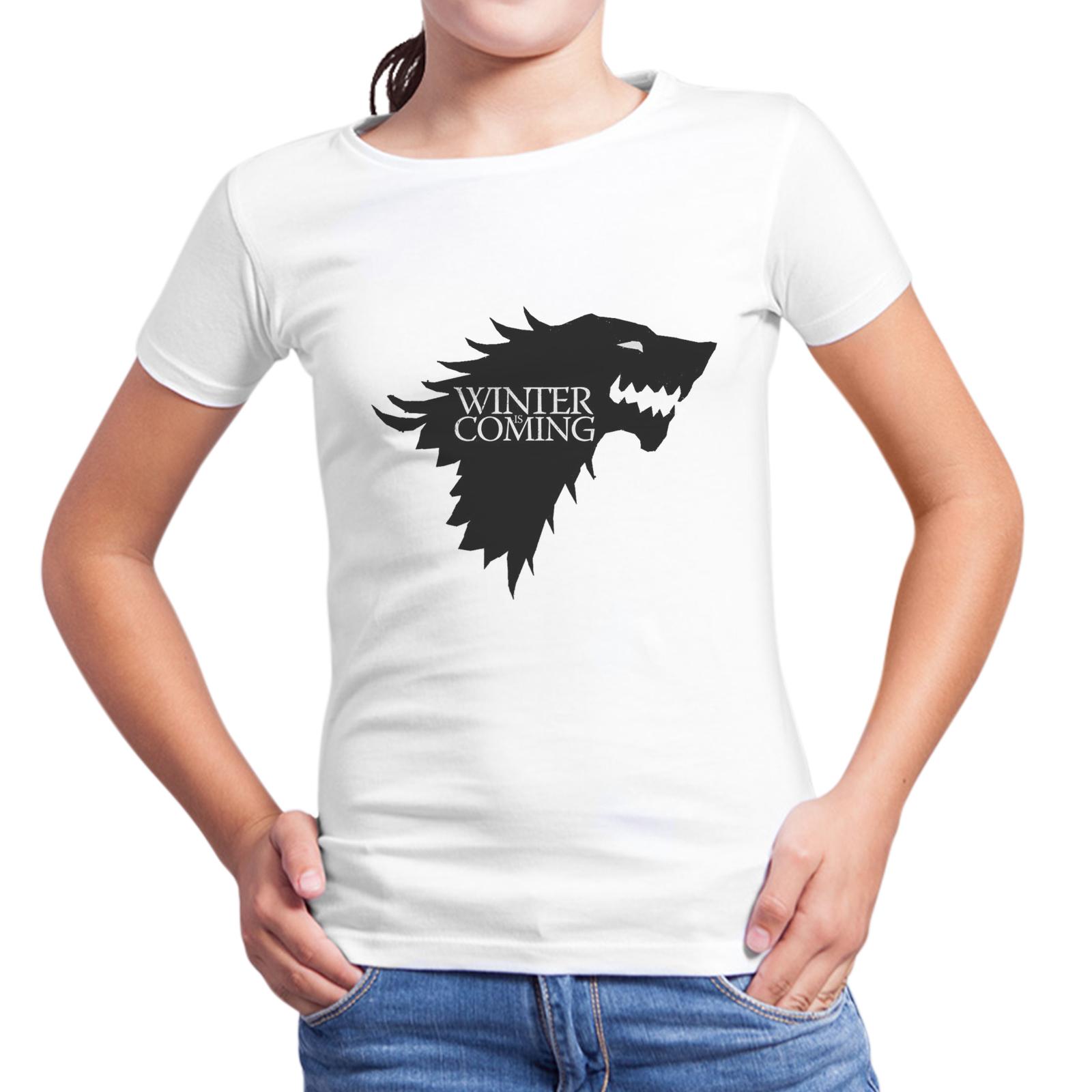 T-Shirt Bambina WINTER IS COMING 1