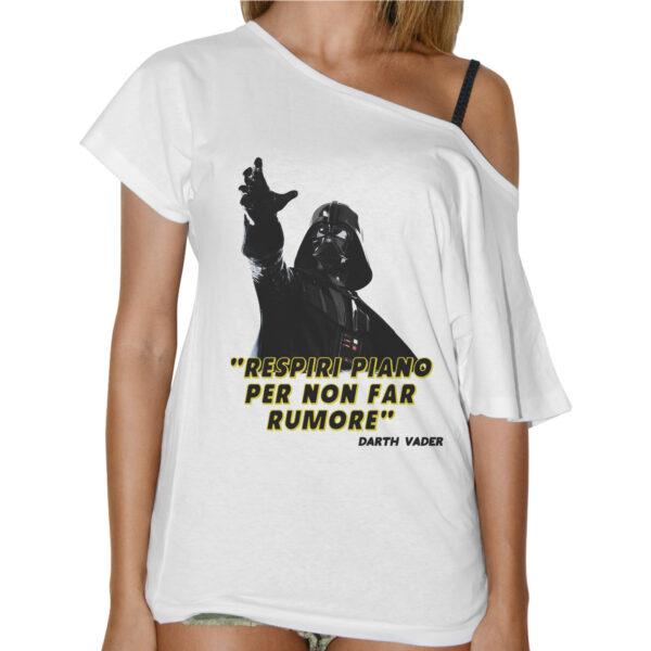 T-Shirt Donna Collo Barca RESPIRI PIANO