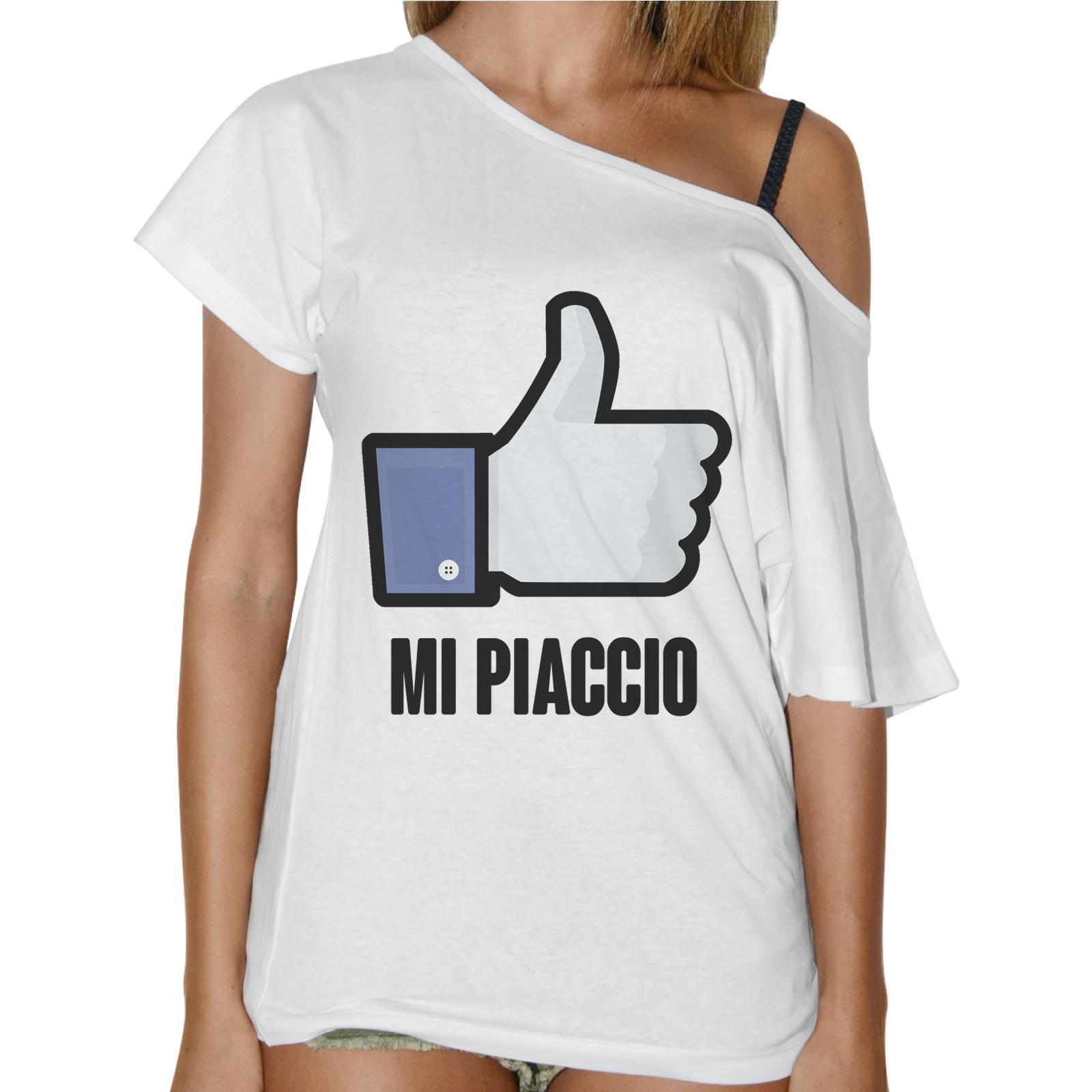 T-Shirt Donna Collo Barca MI PIACCIO