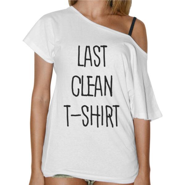 T-Shirt Donna Collo Barca LAST CLEAN T-SHIRT