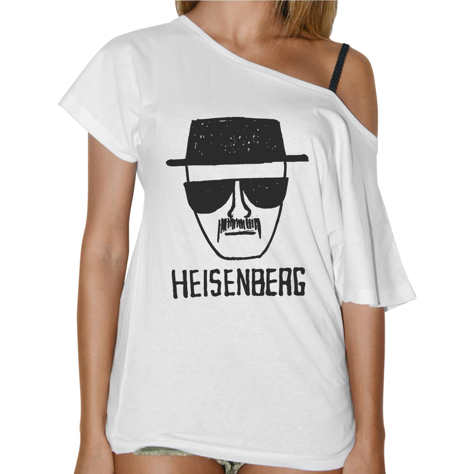 T-Shirt Donna Collo Barca HEISENBERG