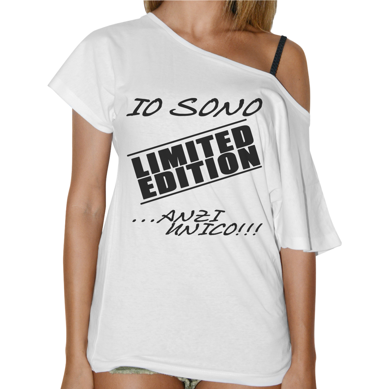 T-Shirt Donna Collo Barca LIMITED EDITION