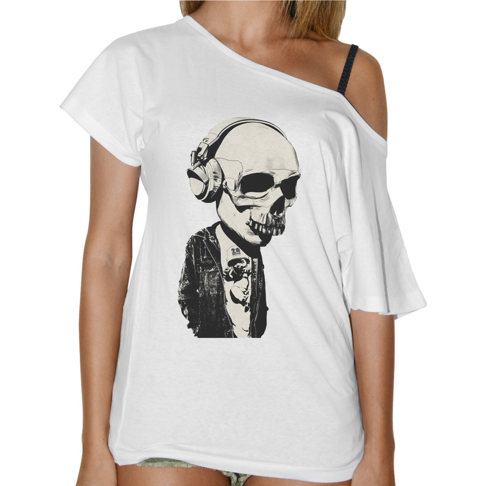 T-Shirt Donna Collo Barca TESCHIO CUFFIE