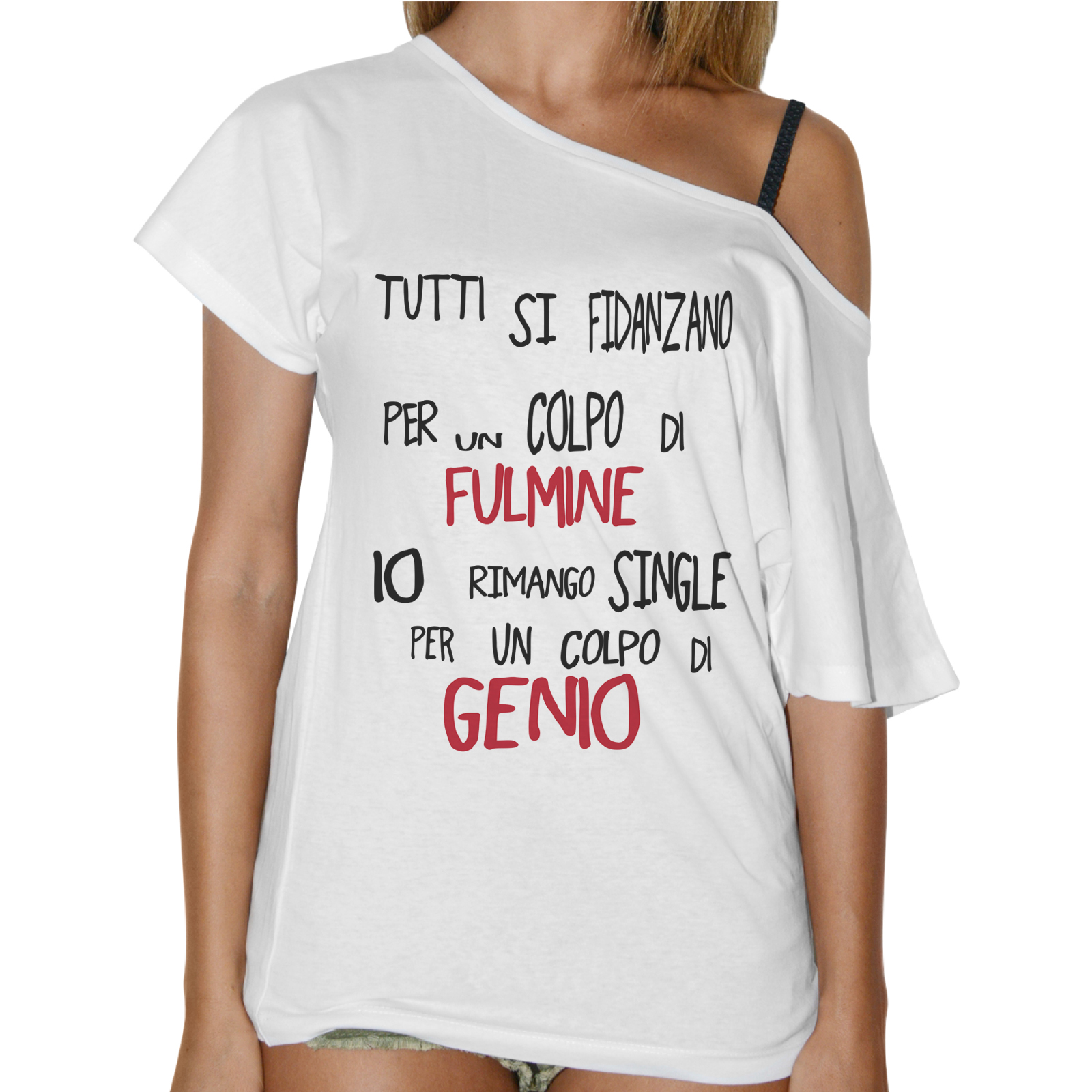 T-Shirt Donna Collo Barca COLPO DI GENIO