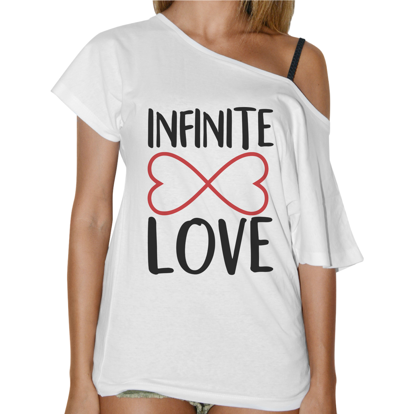 T-Shirt Donna Collo Barca INFINITE LOVE