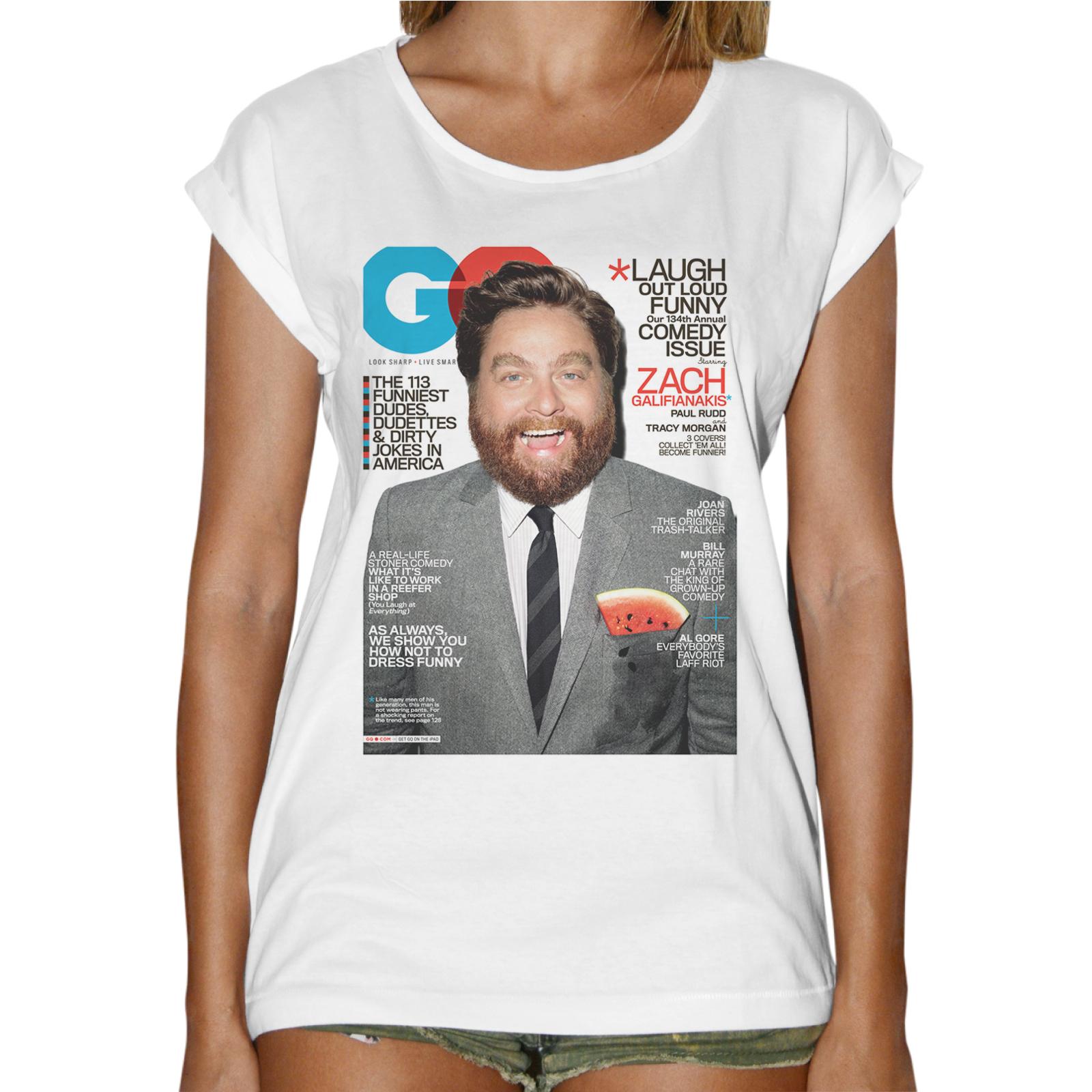T-Shirt Donna Fashion ALAN NOTTE DA LEONI
