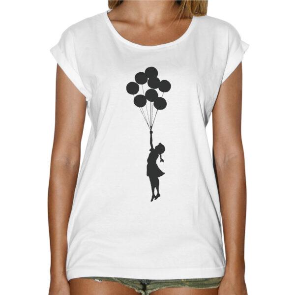 T-Shirt Donna Fashion BAMBINA PALLONCINI