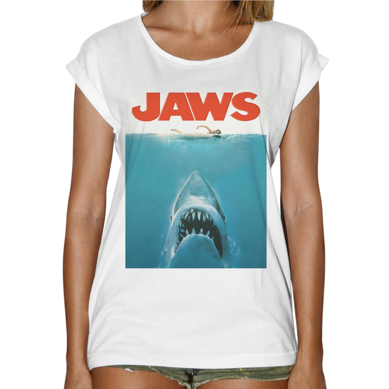 T-Shirt Donna Fashion SHARK JAWS 1