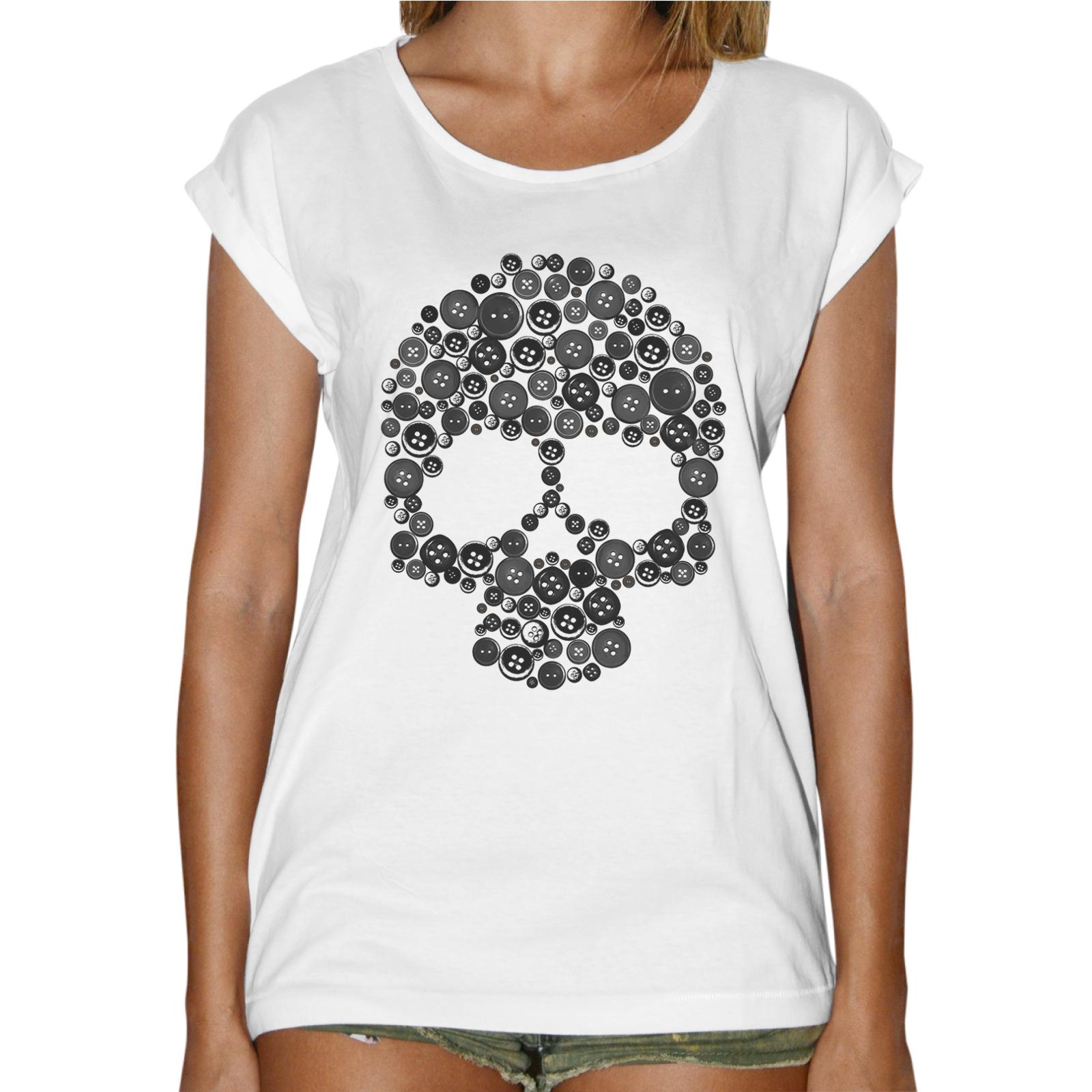 T-Shirt Donna Fashion TESCHIO BOTTONI