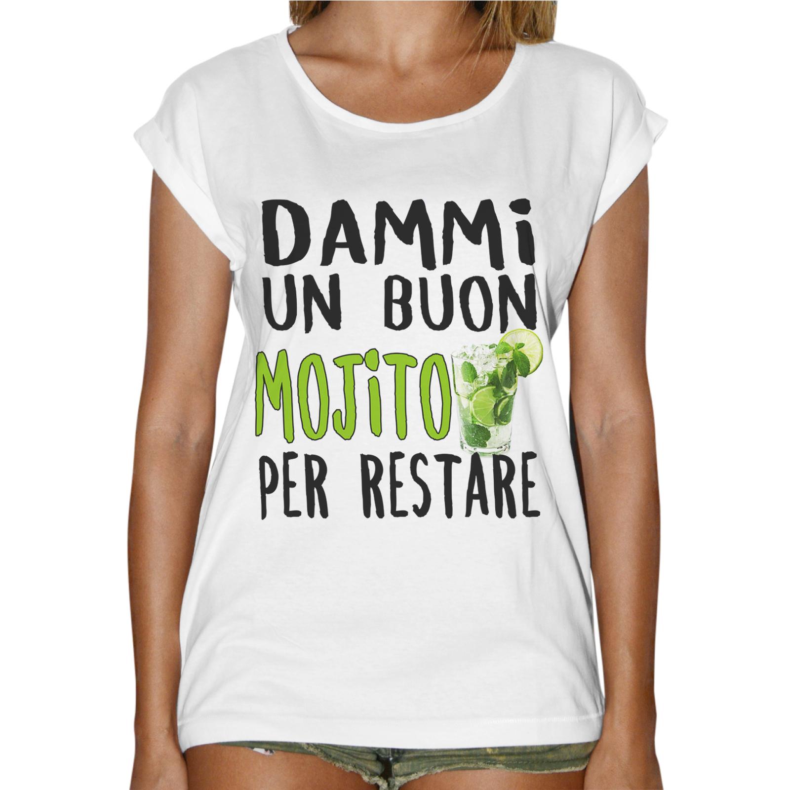 T-Shirt Donna Fashion BUON MOJITO