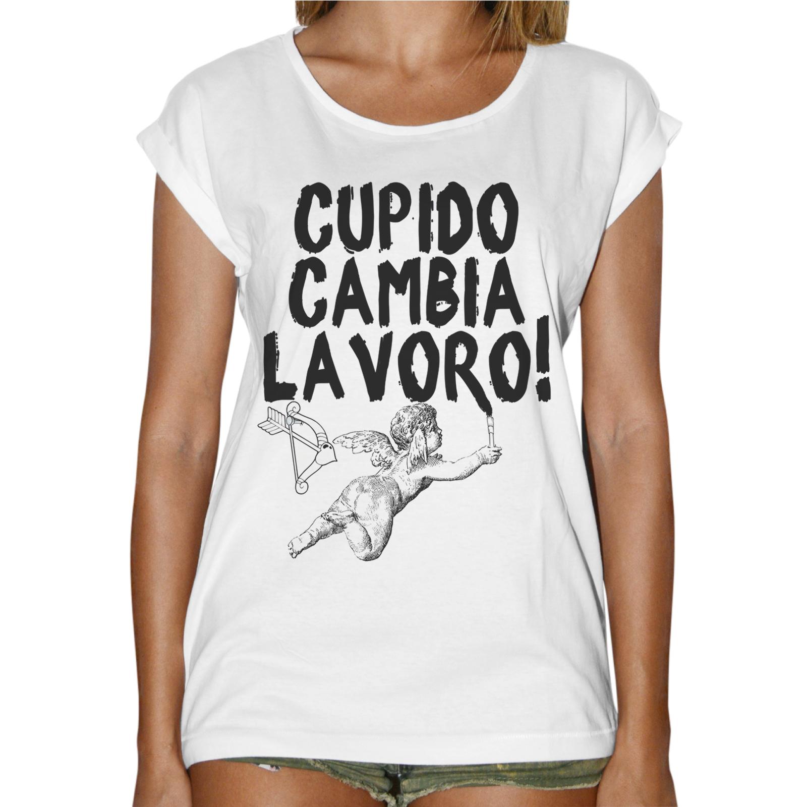 T-Shirt Donna Fashion CAMBIA LAVORO