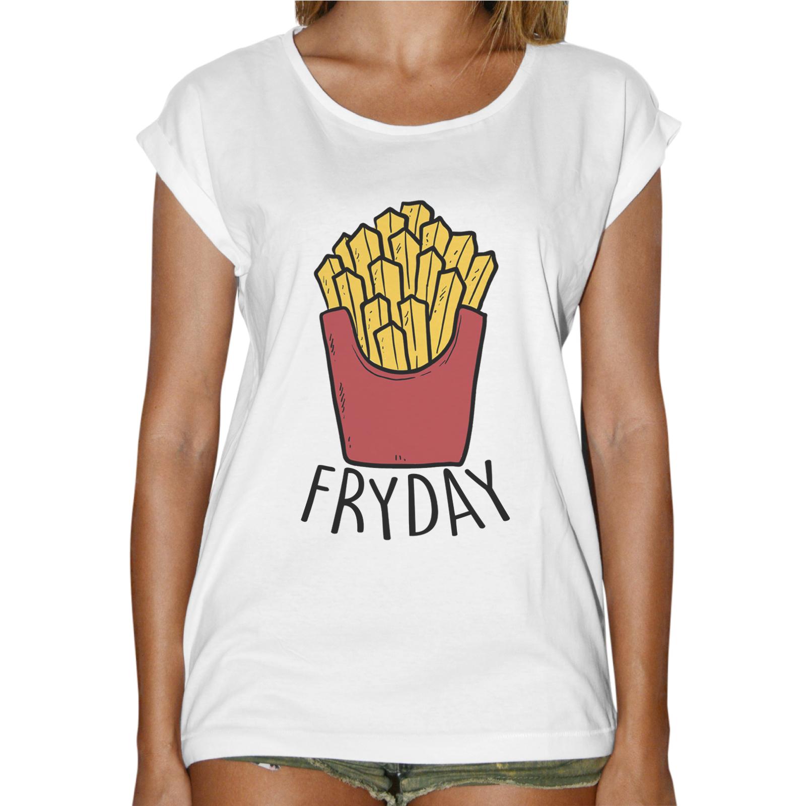 T-Shirt Donna Fashion FRYDAY