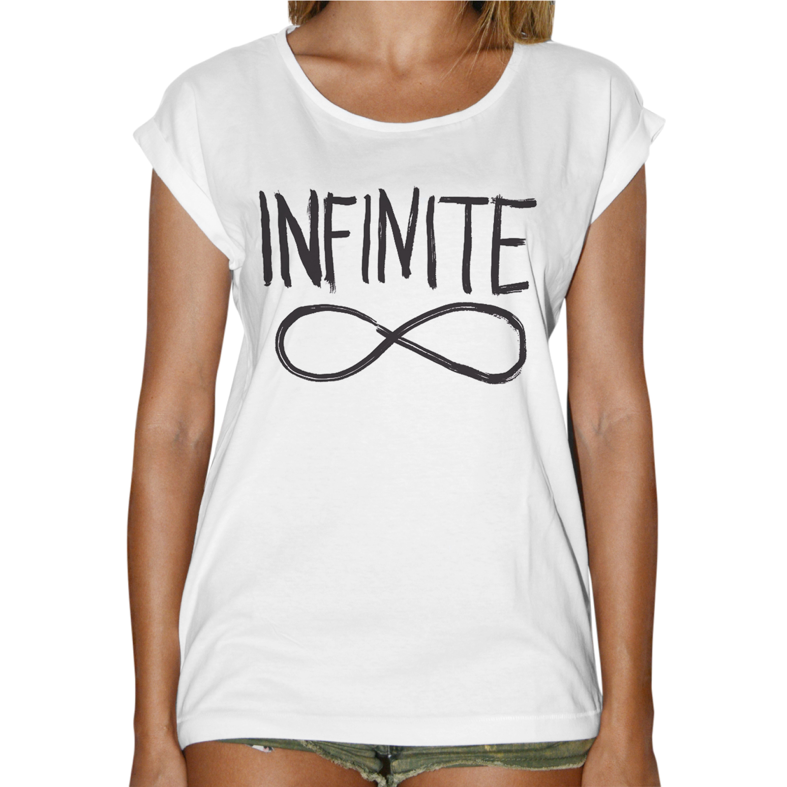 T-Shirt Donna Fashion INFINITE