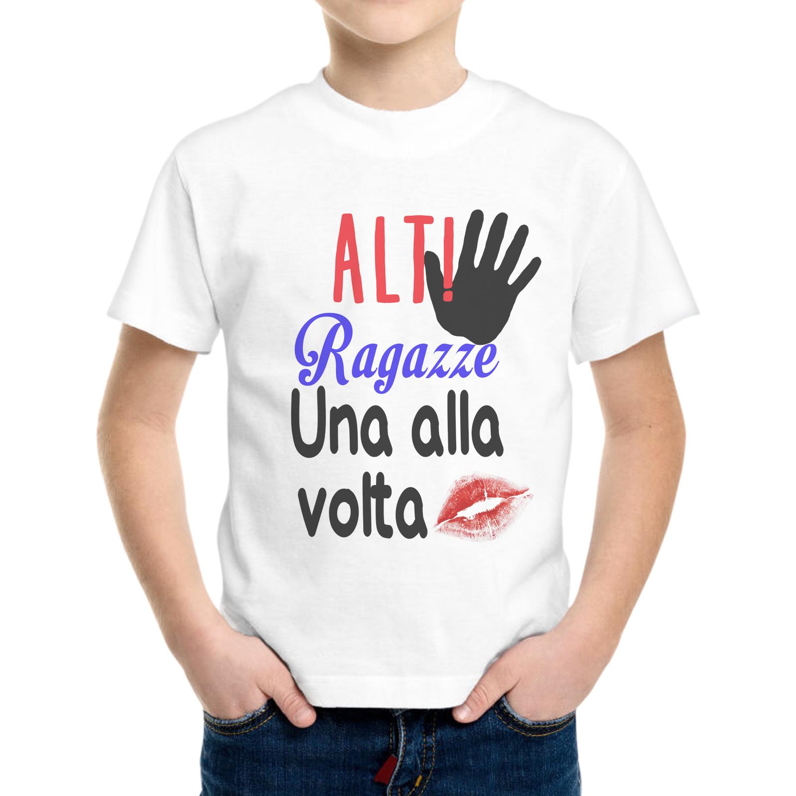 T-Shirt Bambino UNA ALLA VOLTA