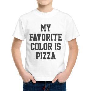 T-Shirt Bambino COLOR PIZZA