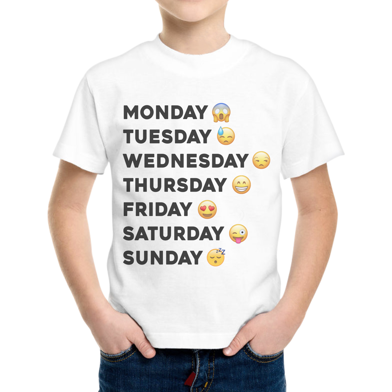 T-Shirt Bambino FACCINE SETTIMANA