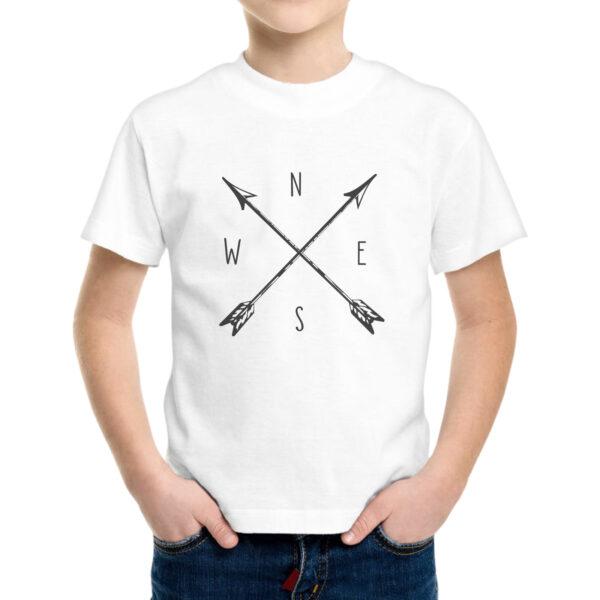 T-Shirt Bambino BUSSOLA VINTAGE