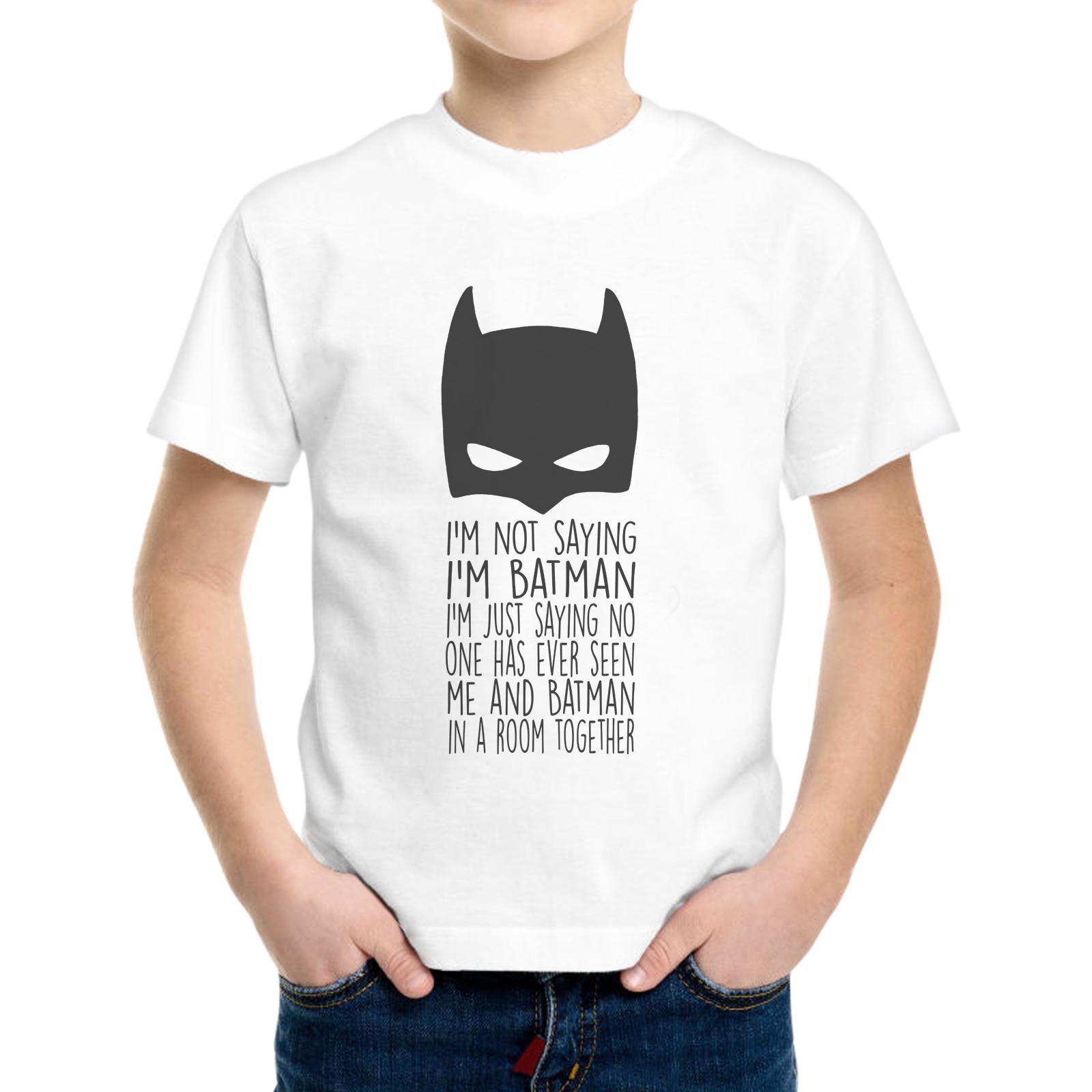 T-Shirt Bambino I'M NOT BATMAN