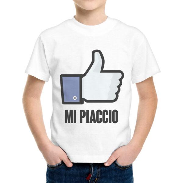 T-Shirt Bambino MI PIACCIO