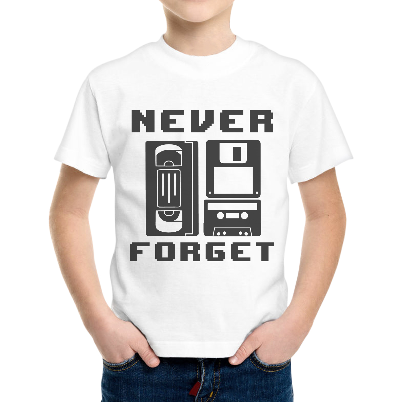 T-Shirt Bambino NEVER FORGET