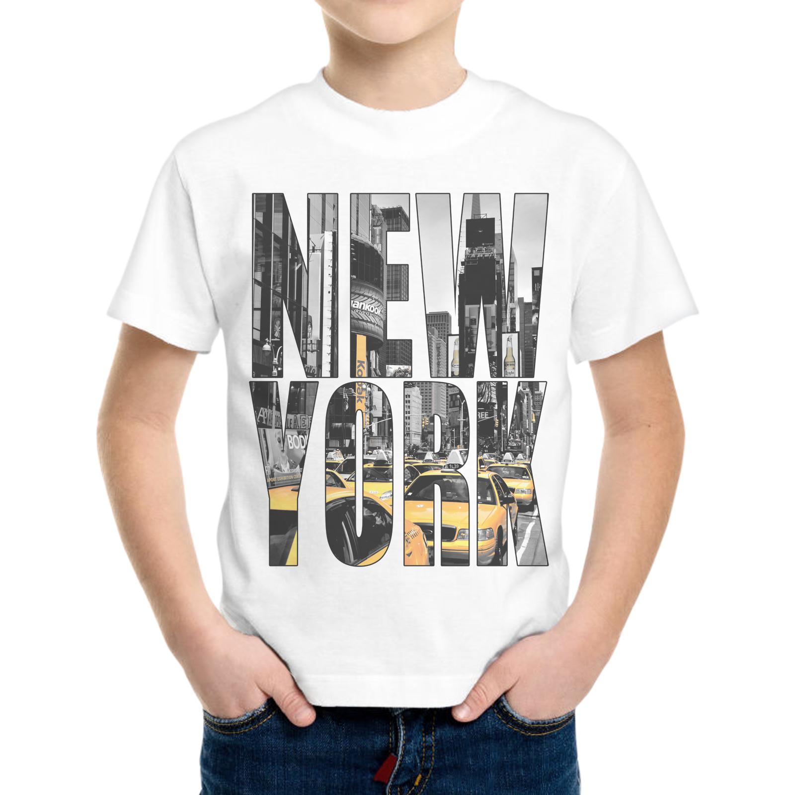 T-Shirt Bambino NEW YORK TAXI