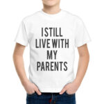 T-Shirt Bambino WITH MY PARENTS