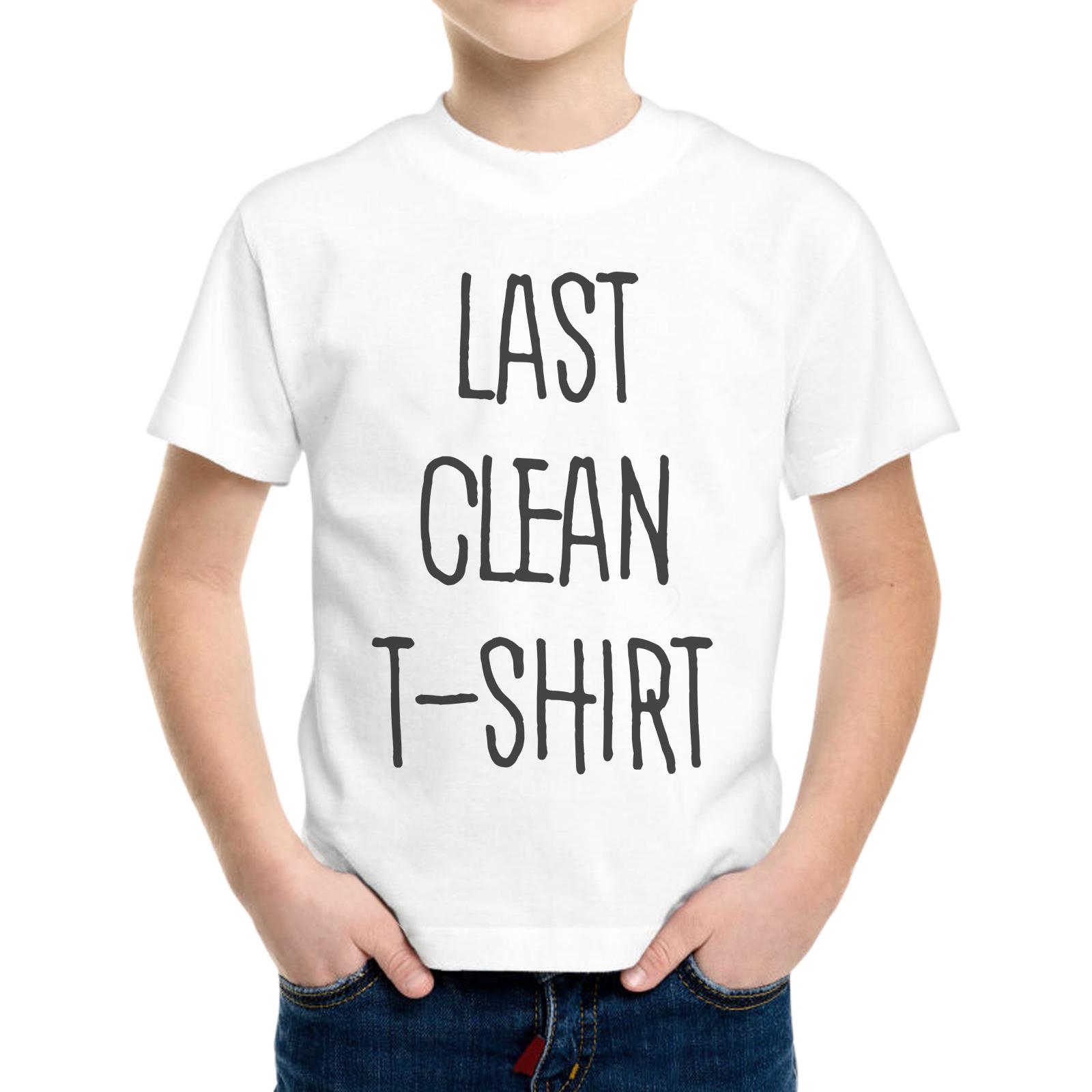 T-Shirt Bambino LAST CLEAN T-SHIRT