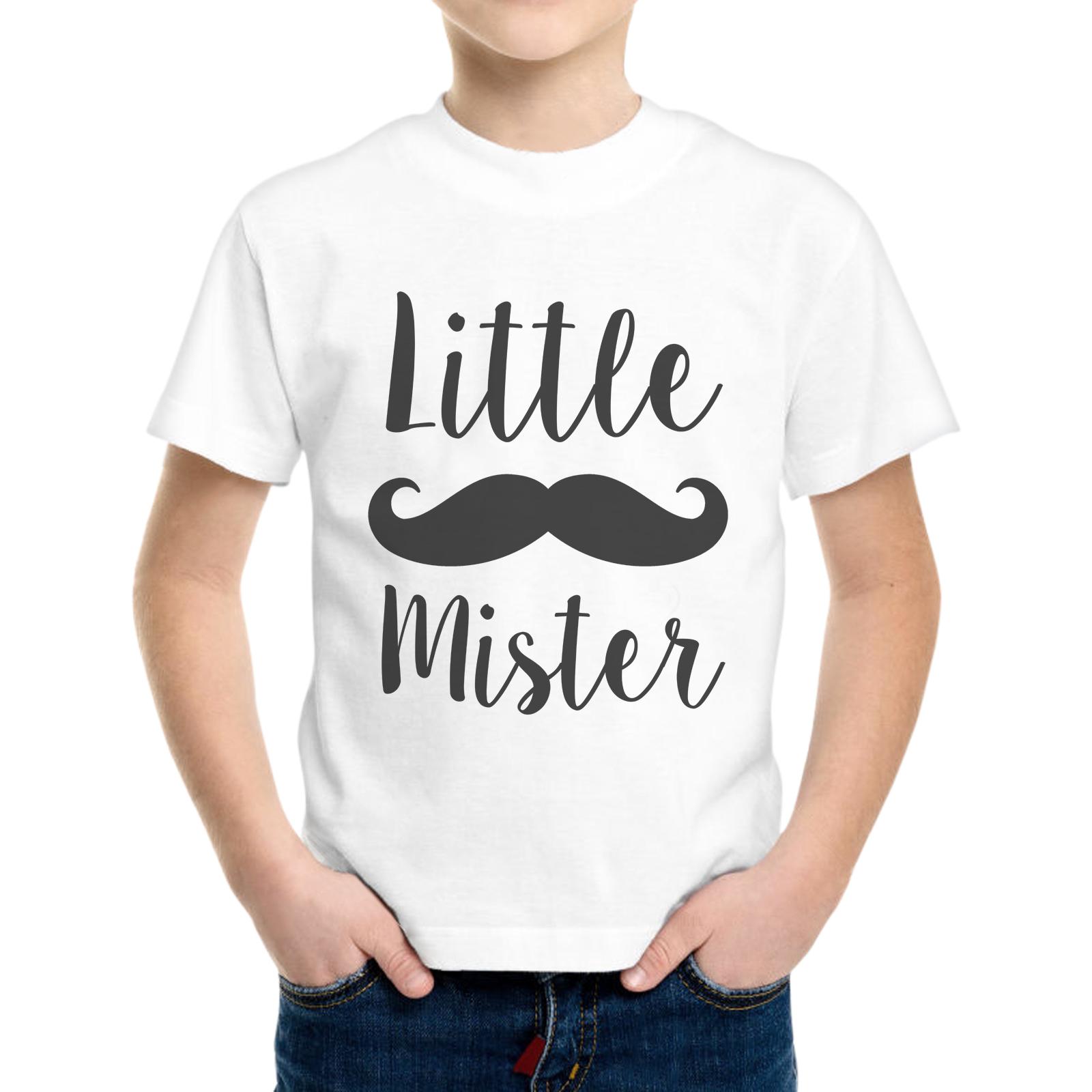 T-Shirt Bambino LITTLE MISTER