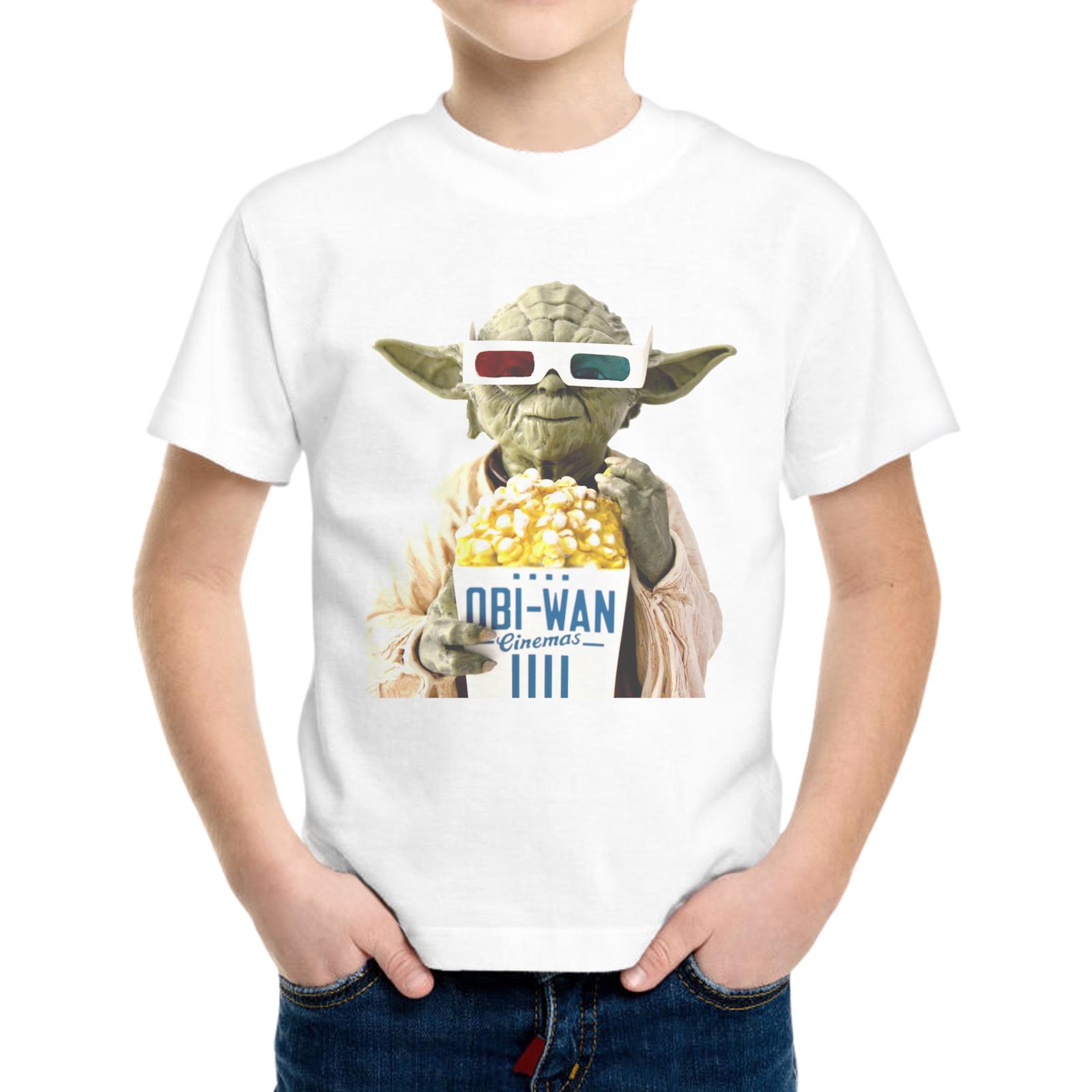 T-Shirt Bambino OBI POP CORN