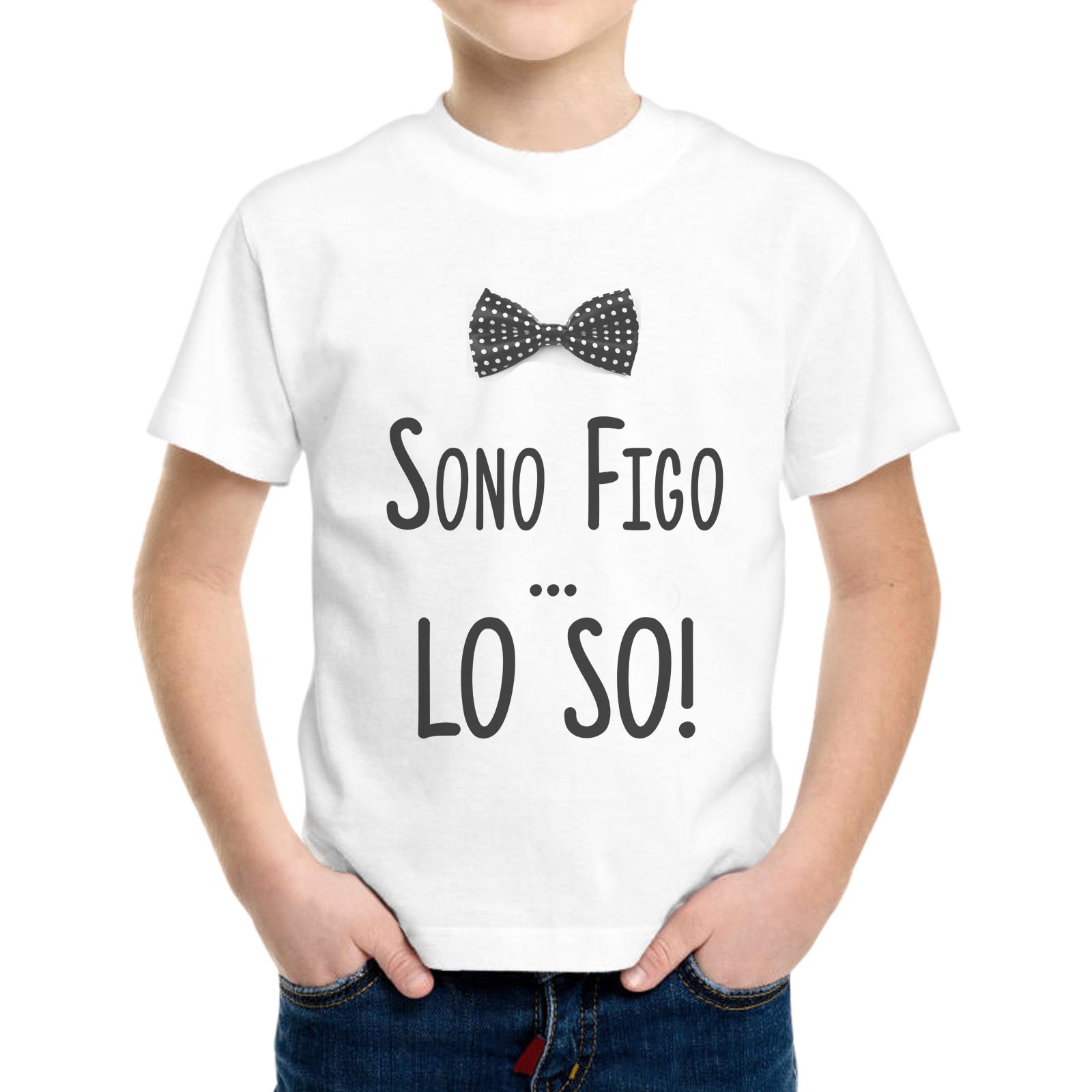 T-Shirt Bambino SONO FIGO