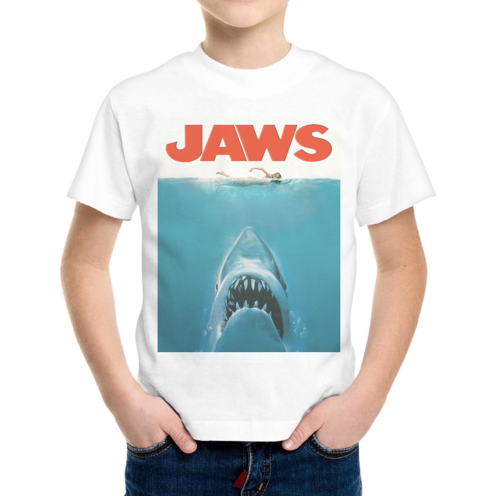 T-Shirt Bambino JAWS SQUALO
