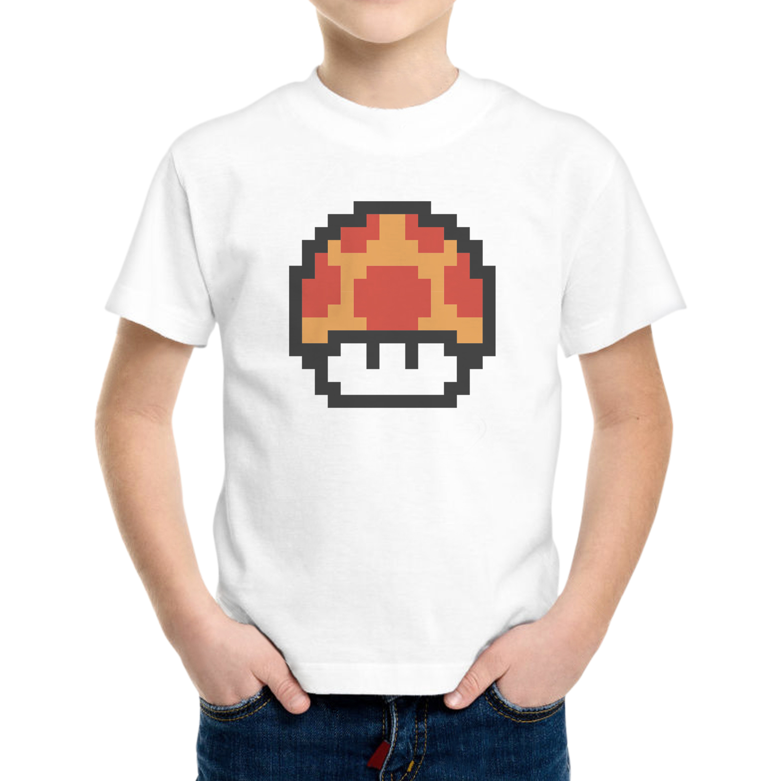 T-Shirt Bambino FUNGHETTO 8 BIT