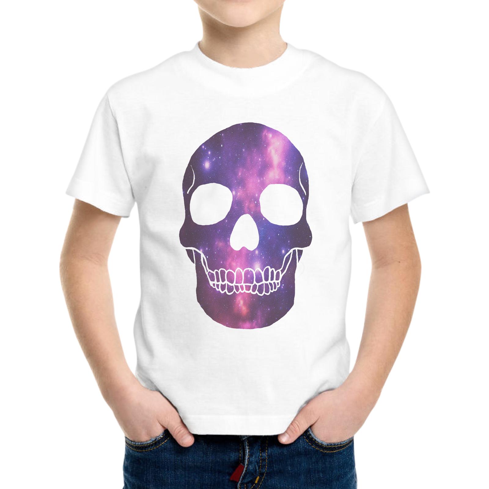 T-Shirt Bambino SKULL GALAXY